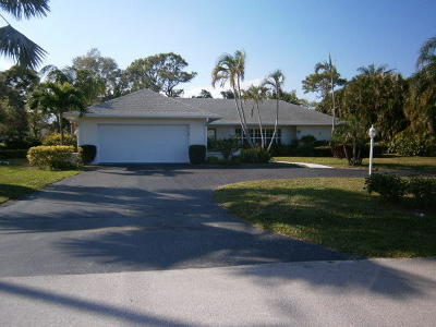 Tequesta Single Family Home Contingent: 262 Tequesta Circle