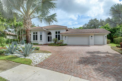 Boca Raton Single Family Home For Sale: 3100 Harrington Drive