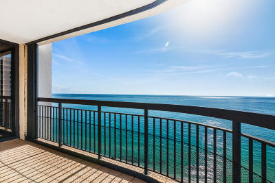 Singer Island Condo For Sale: 5380 Ocean Drive #17i