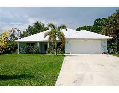 Hobe Sound Rental For Rent: 8416 SE Boxwood Lane