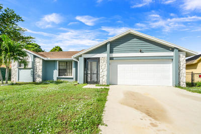 Boynton Beach Single Family Home For Sale: 6366 Bengal Circle