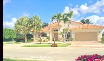 Boynton Beach Single Family Home For Sale: 6783 E Liseron