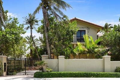 Palm Beach Single Family Home For Sale: 110 Hammon Avenue