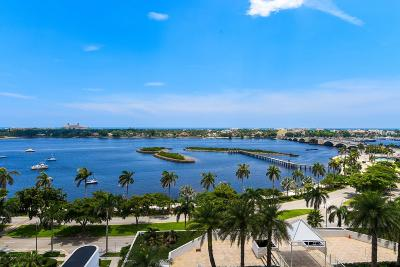 West Palm Beach Condo For Sale: 525 S Flagler Drive #10a & Ca