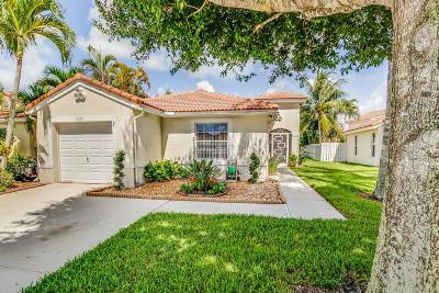 Lake Worth Townhouse For Sale: 7279 Burgess Drive