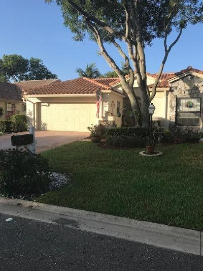 Boynton Beach Single Family Home For Sale: 4640 Catamaran Circle