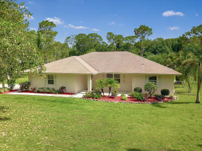 Jupiter Single Family Home For Sale: 13311 152nd Road