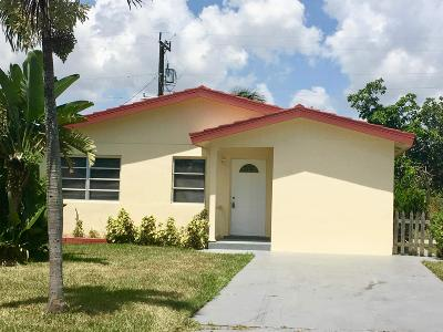 Delray Beach Single Family Home For Sale: 218 NW 7th Avenue