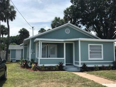 Fort Pierce Single Family Home For Sale: 125 10th Street