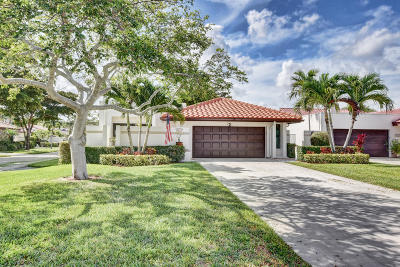 Boca Raton FL Single Family Home For Sale: $424,000