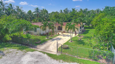 West Palm Beach Single Family Home For Sale: 406 Elaine Road