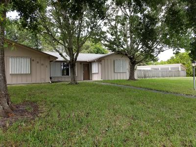 Fort Pierce Single Family Home For Sale: 6501 Penny Lane