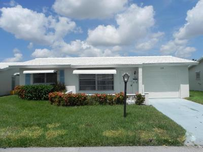 Boynton Beach Single Family Home For Sale: 119 Ocean Court