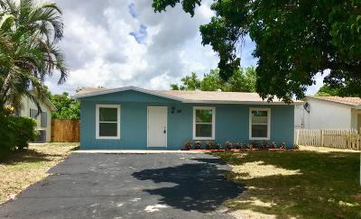 Boca Raton FL Single Family Home For Sale: $299,900