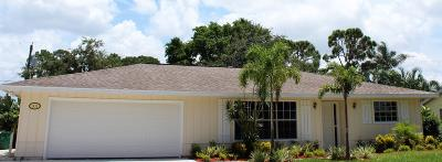 Port Saint Lucie Single Family Home For Sale: 1431 SE Sandia Drive