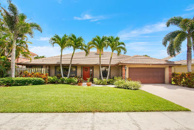 Palm Beach Gardens Single Family Home For Sale: 2611 Bordeaux Court