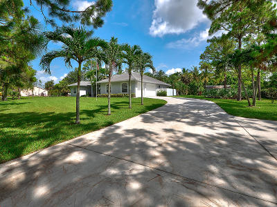 Loxahatchee FL Single Family Home Contingent: $449,000