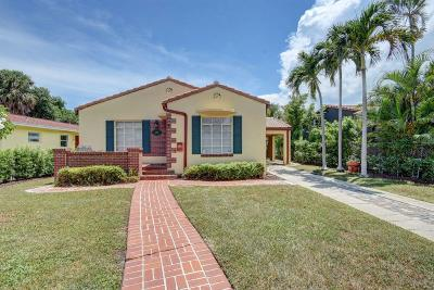 West Palm Beach Single Family Home For Sale: 430 26th Street