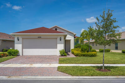 Port Saint Lucie Single Family Home For Sale: 10352 SW Indian Lilac Trail