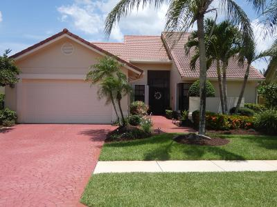 Boca Raton Single Family Home Contingent: 19308 Cherry Hills Terrace