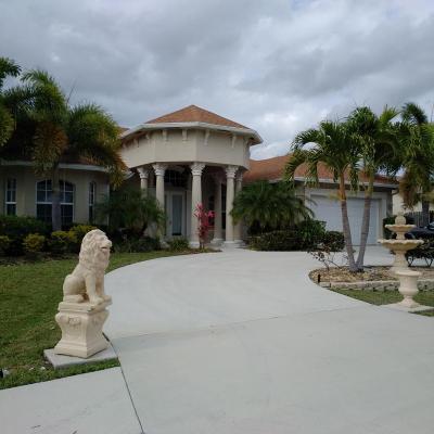 Port Saint Lucie Single Family Home For Sale: 2622 SE Morningside Boulevard