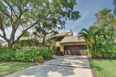 Boca Raton Townhouse For Sale: 781 Saint Albans Drive