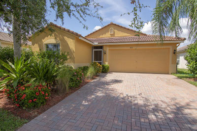 Port Saint Lucie Single Family Home For Sale: 832 NW Greenwich Court