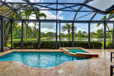West Palm Beach Single Family Home For Sale: 10696 Grande Boulevard