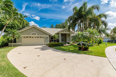 Lake Worth Single Family Home Contingent: 6073 Wedgewood Village Circle