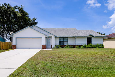 Port Saint Lucie Single Family Home For Sale: 649 SW Jacoby Avenue