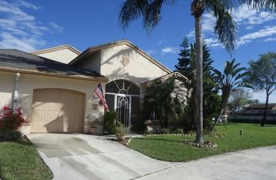 Boca Raton FL Single Family Home For Sale: $287,500