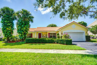 Delray Beach Single Family Home For Sale: 3990 Sabal Lakes Road