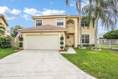 Boynton Beach Single Family Home For Sale: 3665 Potomac Place