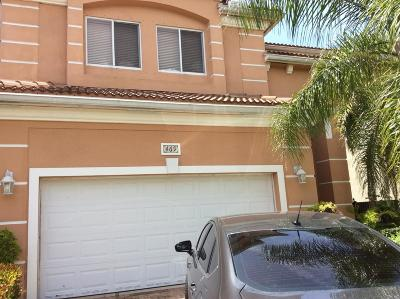 West Palm Beach FL Single Family Home For Sale: $320,000