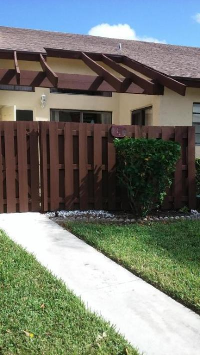 Delray Beach Single Family Home For Sale: 14085 Nesting Way #B