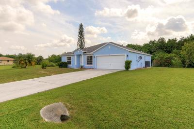 Fort Pierce Single Family Home For Sale: 304 Rosewood Drive