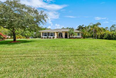 Jupiter Single Family Home Contingent: 10574 157th Street