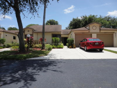 Boca Raton Single Family Home For Sale: 8246 Springview Terrace #C