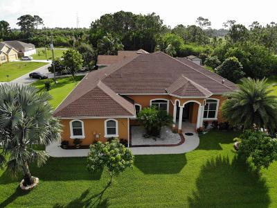 Port Saint Lucie Single Family Home For Sale: 2411 SW Fairgreen Road