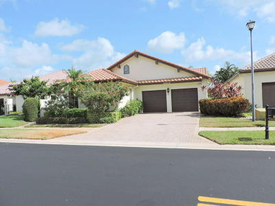 Boca Raton Single Family Home For Sale: 22672 Esplanada Circle W