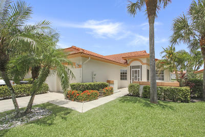 Delray Beach Single Family Home For Sale: 15176 W Tranquility Lake Drive