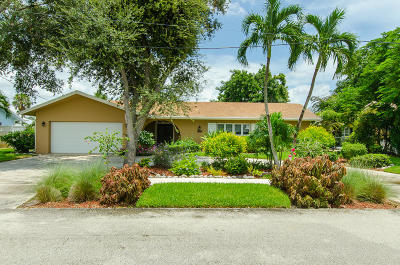 Boca Raton Single Family Home For Sale: 1129 SW 2nd Street