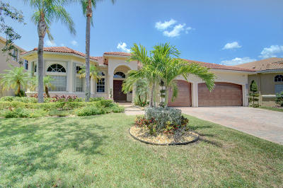Boca Raton Single Family Home For Sale: 9611 Parkview Avenue