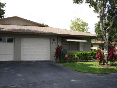 Boynton Beach Single Family Home For Sale: 1550 Palmland Drive