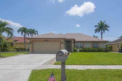 Boynton Beach Single Family Home For Sale: 9098 Cavatina Place