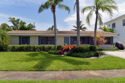 Boca Raton Single Family Home Contingent: 254 NE 3rd Court