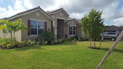 Vero Beach Single Family Home For Sale: 3052 Berkley Square