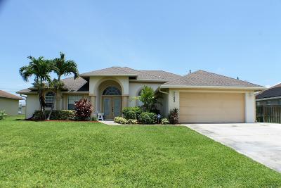 Port Saint Lucie Single Family Home Contingent: 359 SW Dustin Avenue