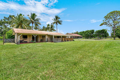 Jupiter Single Family Home For Sale: 17689 Rocky Pines Road