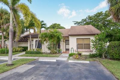 Lake Worth Single Family Home For Sale: 3593 Crab Apple Trail #C